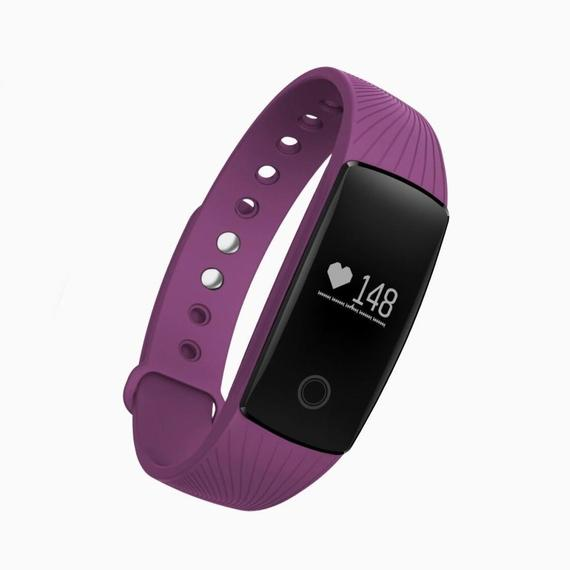 Bluetooth Smart Band Fitness Tracker med pulsmätare-dagliga stjälar
