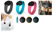 Digital Fitness Watch W/ Silcone Strap-Daily Steals