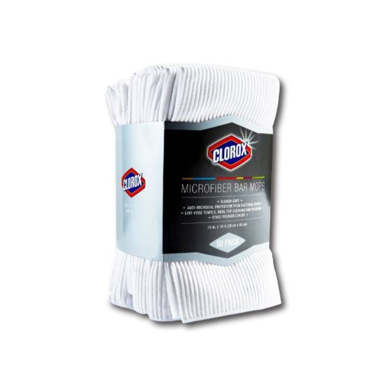 Clorox Microfiber Bar Mops - 10 or 20 Packs-10-Pack-Daily Steals