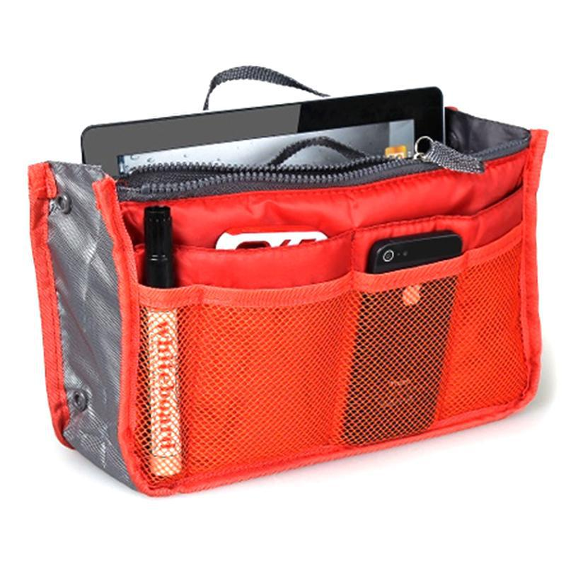 Meshed Up! Handbag Organizer-Orange-Daily Steals