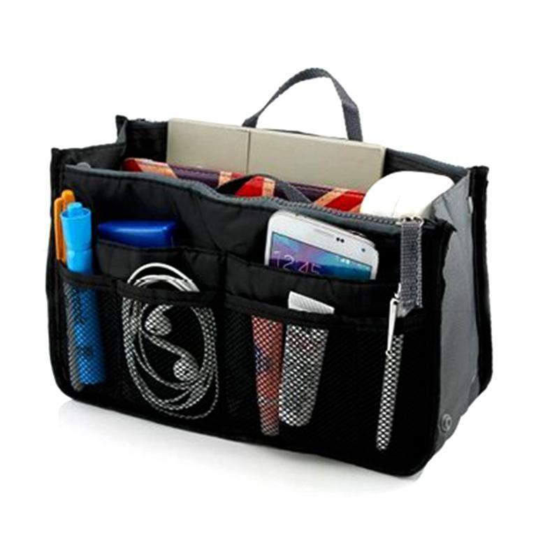 Meshed Up! Handbag Organizer-Black-Daily Steals