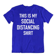 """This Is My Social Distancing Shirt"" T-Shirt-Royal Blue-2XL-Daily Steals"