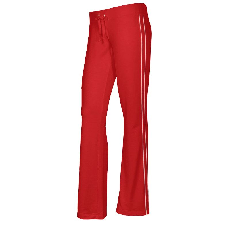 Women's French Terry Comfy Sweatpants - 1 or 2 Pack-Red-1 Pack-S-Daily Steals