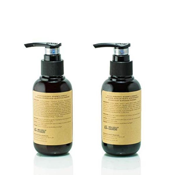 Nature Queen Herbal Shampoo And Conditioner Set, Repair + Volumize, 3.4 Oz-Daily Steals