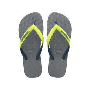 Havaianas H. Top Mix Sandals for Men and Women-Grey-6 Womens/ 5 Mens-Daily Steals