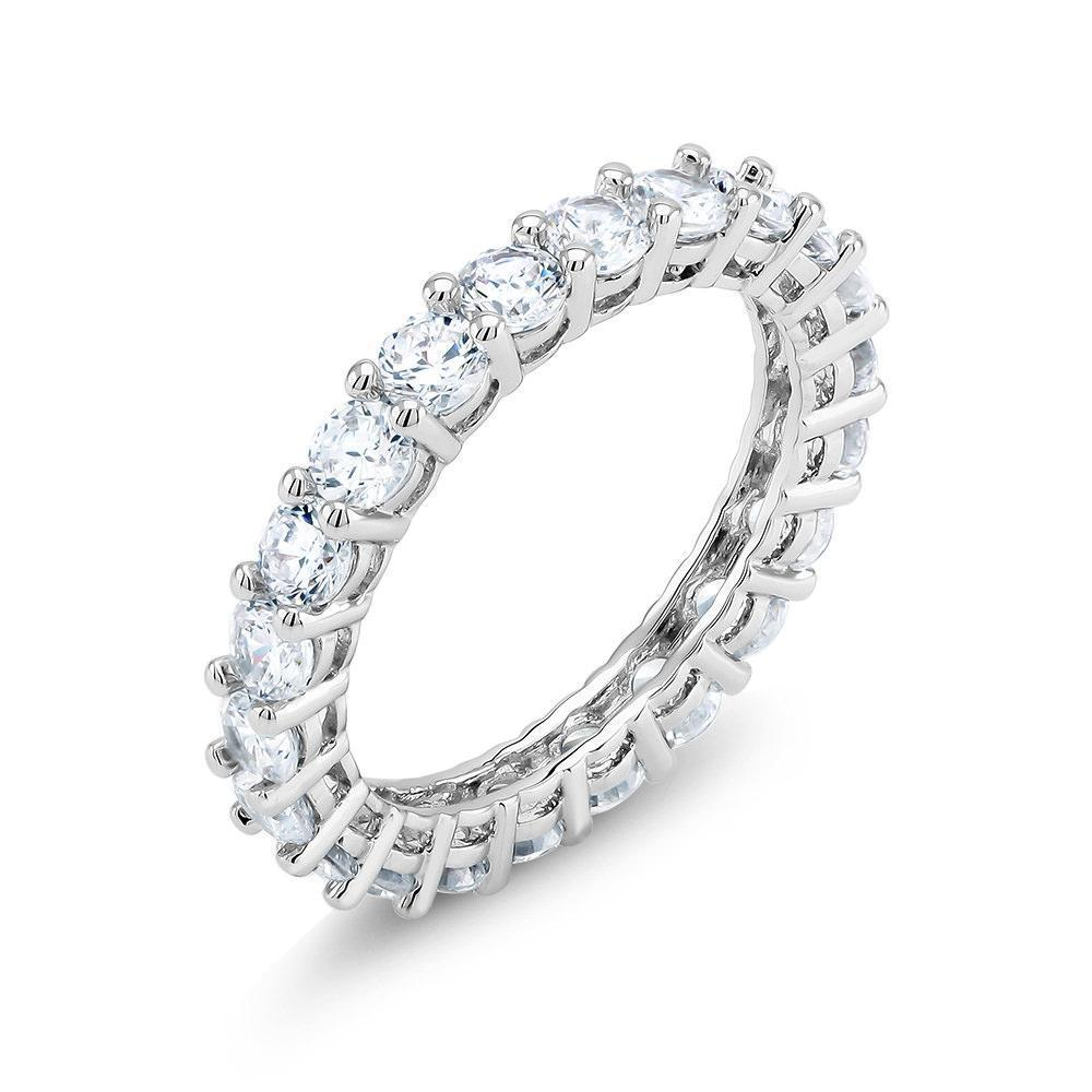 [3 Piece Set] Luxury Crystal Set in 18K White Gold Plated Brass-Daily Steals