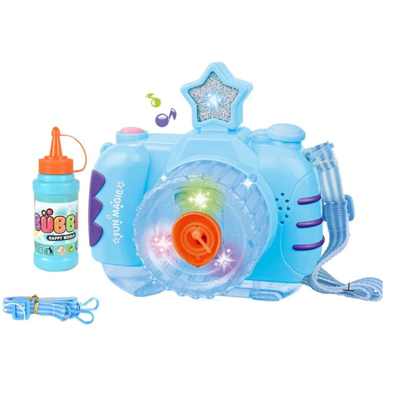 Electric Battery Powered Automatic Camera Bubble Machine