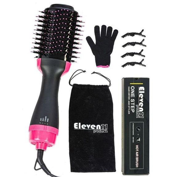 Eleven11 Products – One Step Hair Dryer & Volumizer-