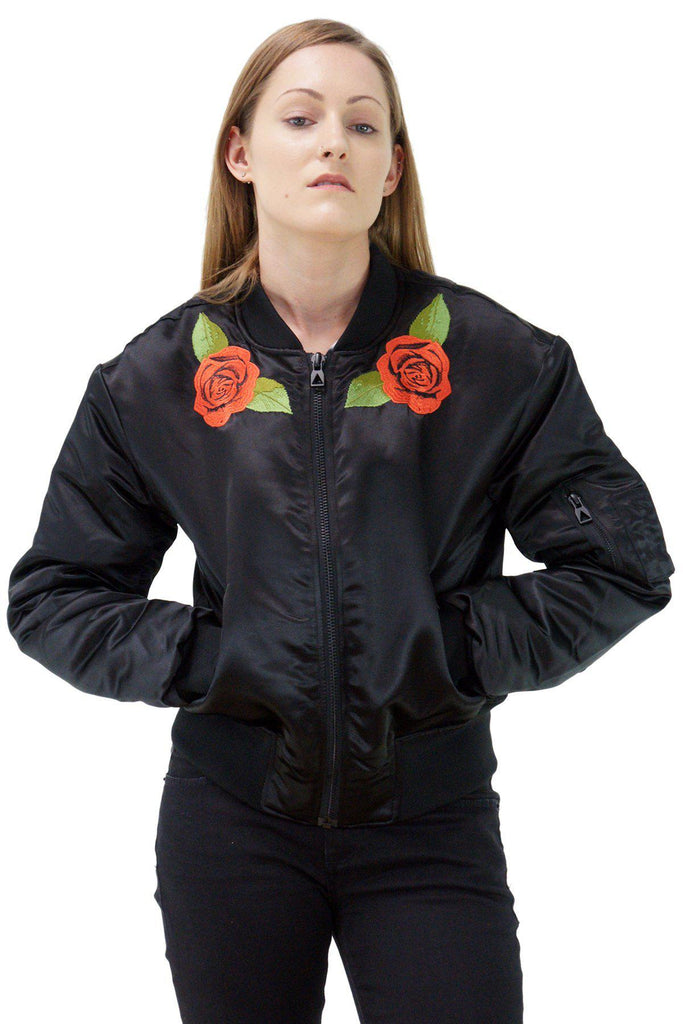 Beast Embroidered Bomber Jacket By Eleven Paris-Daily Steals