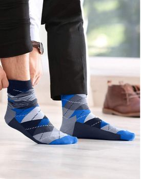 Emprella Mens Dress Socks - Assorted Styles - 5 Pack-Daily Steals