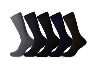 Emprella Mens Dress Socks - Assorted Styles - 5 Pack-Assorted-Daily Steals