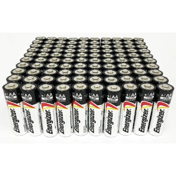 Energizer Max AA or AAA Alkaline Batteries - 50 Pack-AA-Daily Steals