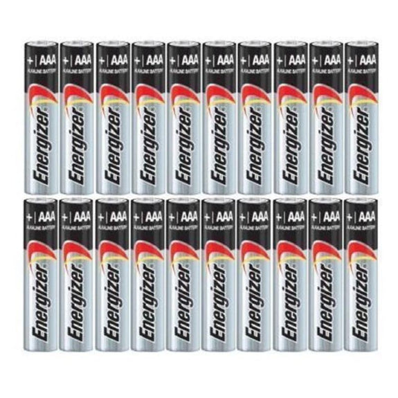 Energizer Max AA or AAA Alkaline Batteries - 50 Pack-Daily Steals