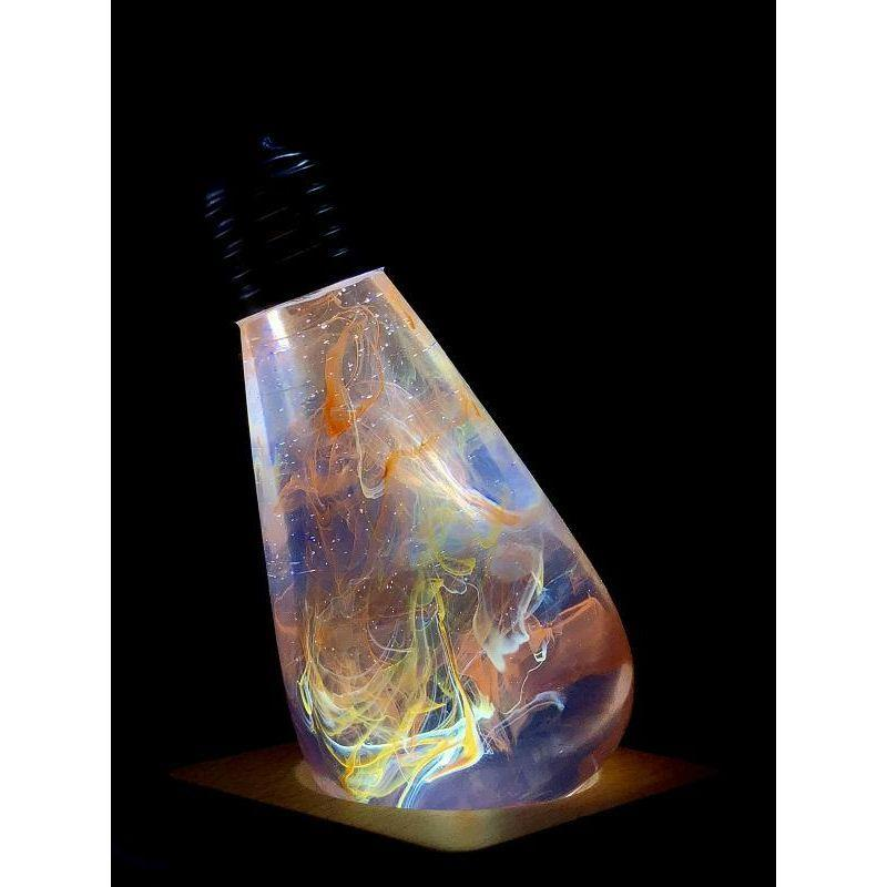 EP Light Nebula Outter Space Bulb Art Fixture Lamp with Optional Modern or Vintage Base Stand-Bulb-