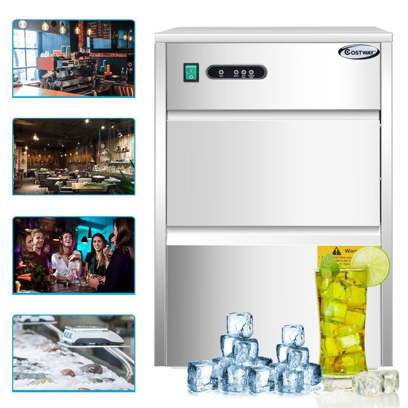 Automatic Ice Maker With 58lbs/24h Productivity-Daily Steals