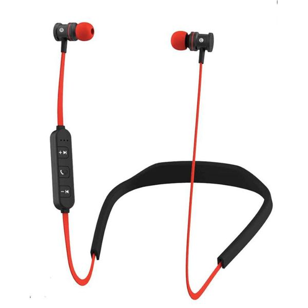 HYPE Active Sport Bluetooth Earbuds-Red-Daily Steals