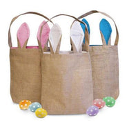 Cute Bunny Ears Easter Tote Bag - 2 Pack-Daily Steals