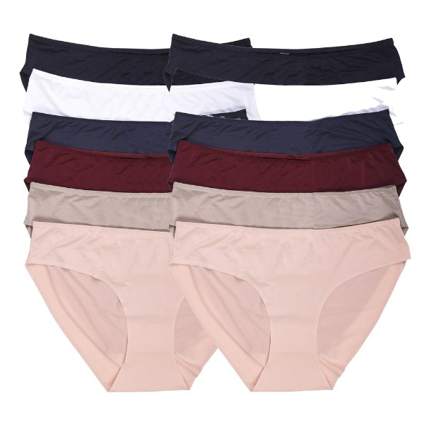 Seamless Hipster Panties - 12 Pack-XL-Daily Steals