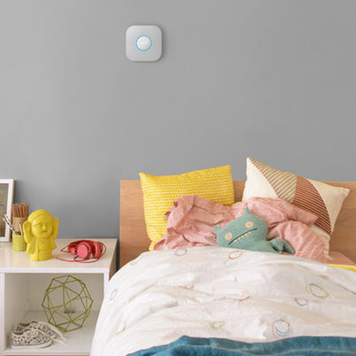 Daily Steals-Nest Protect Smoke and Carbon Monoxide Alarm (White, 2nd Generation)-Home and Office Essentials-Wired Installation-
