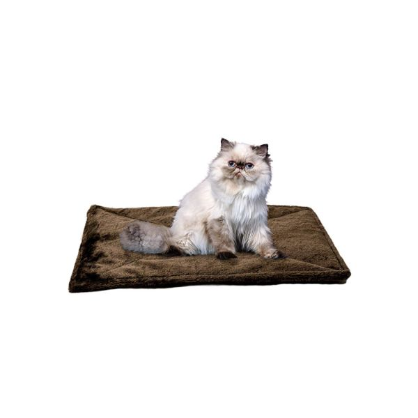 FurHaven ThermaNAP Self Warming Heating Pet Mat-Espresso-Daily Steals