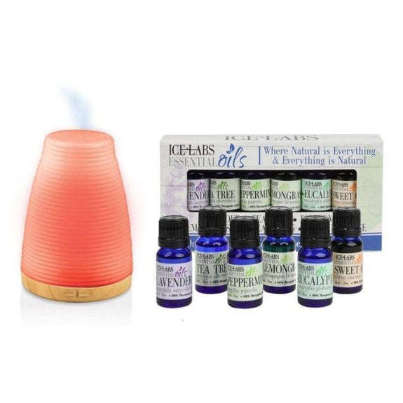 Essential Oils Relaxing Diffuser Starter Kit - 6 Pack-Daily Steals