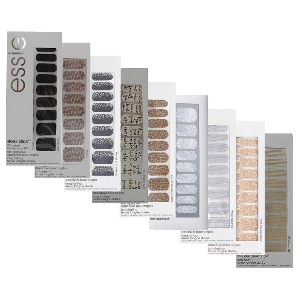 Daily Steals-Essie Sleek Stick Nail Appliques-Stickers 9-piece Set-Health and Beauty-
