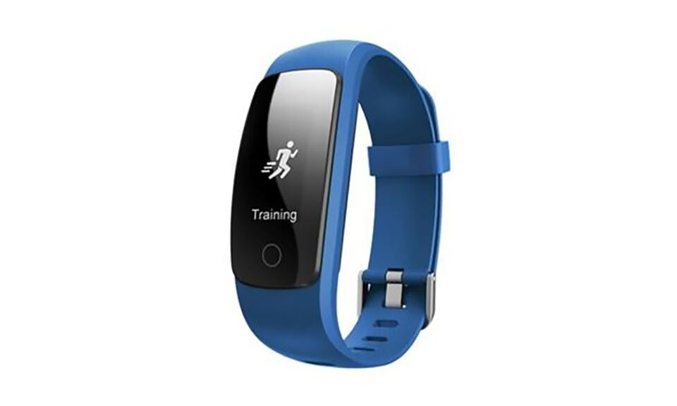 Multi Function GPS, Heart Rate, Weather Bluetooth Heart Rate and Activity Fitness Tracker-Blue-Daily Steals