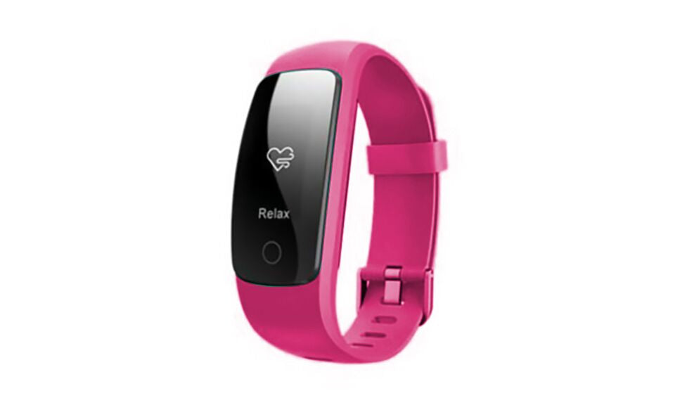 Multi Function GPS, Heart Rate, Weather Bluetooth Heart Rate and Activity Fitness Tracker-Pink-Daily Steals