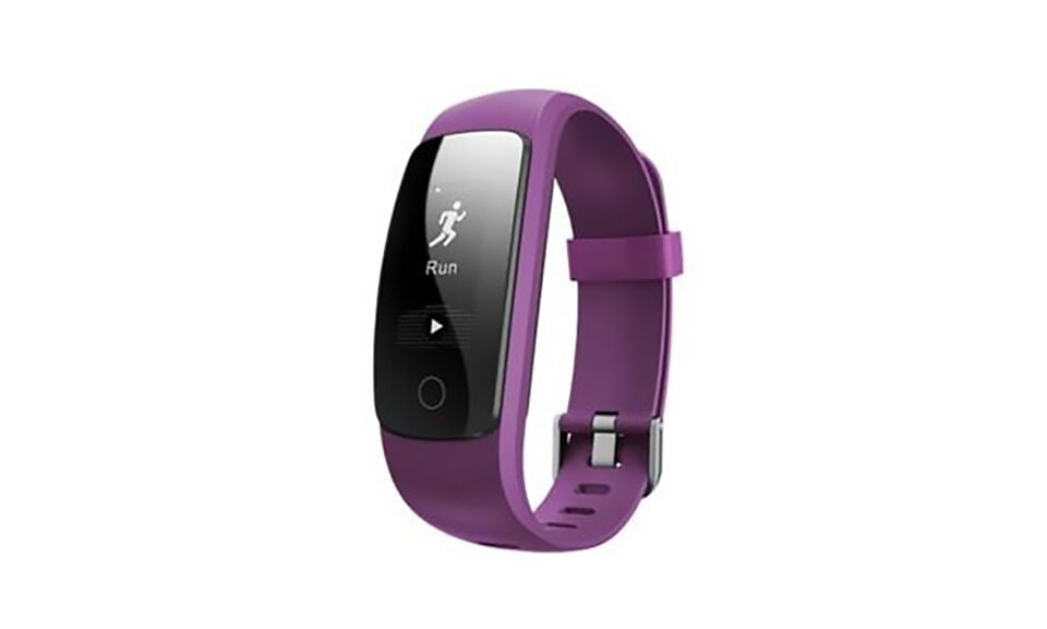 Multi Function GPS, Heart Rate, Weather Bluetooth Heart Rate and Activity Fitness Tracker-Purple-Daily Steals