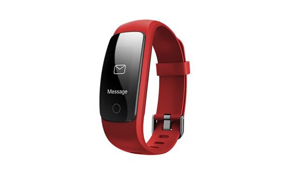 Multi Function GPS, Heart Rate, Weather Bluetooth Heart Rate and Activity Fitness Tracker-Red-Daily Steals