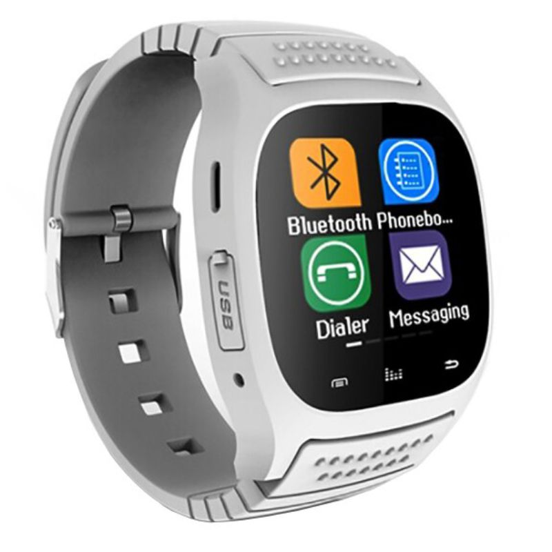 Elegance Bluetooth Smartwatch for iOS and Android-White-Daily Steals