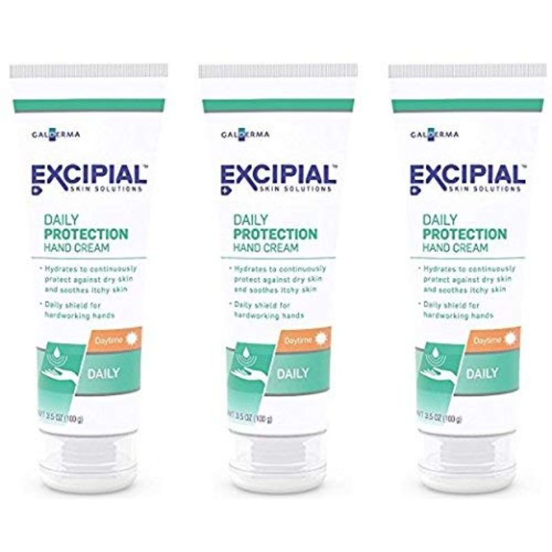 Excipial Daily Protection Daytime Hand Cream, 3.5 Ounce - 3 Pack-Daily Steals