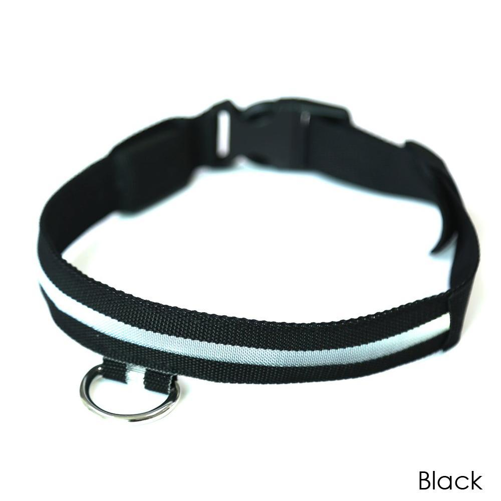 Daily Steals-EZ-PET LED Light Safety Pet Collar – Visible up to 1,000ft-Pets-Black-X-Small-