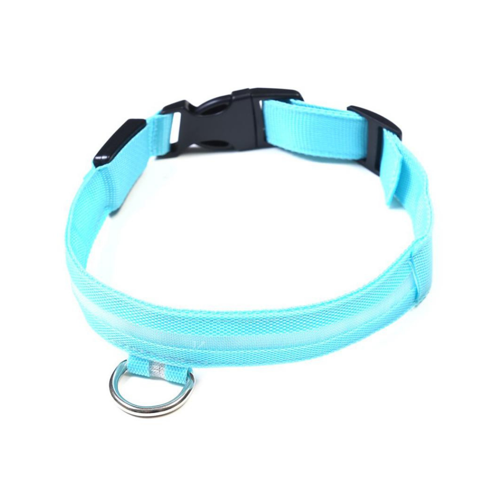 Daily Steals-EZ-PET LED Light Safety Pet Collar – Visible up to 1,000ft-Pets-Blue-X-Small-
