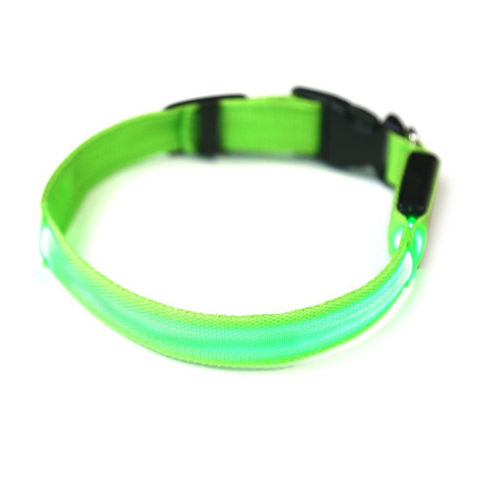 Daily Steals-EZ-PET LED Light Safety Pet Collar – Visible up to 1,000ft-Pets-Green-X-Small-