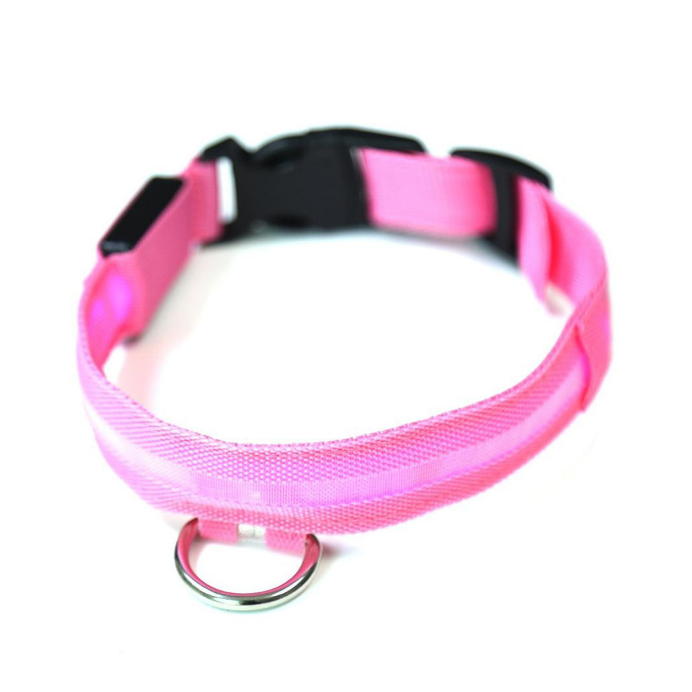 Daily Steals-EZ-PET LED Light Safety Pet Collar – Visible up to 1,000ft-Pets-Pink-X-Small-