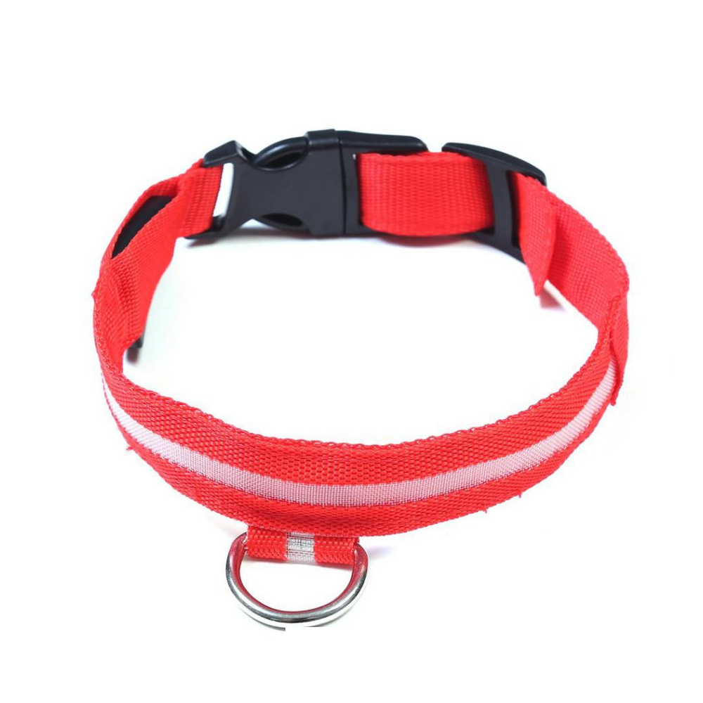 Daily Steals-EZ-PET LED Light Safety Pet Collar – Visible up to 1,000ft-Pets-Red-X-Small-