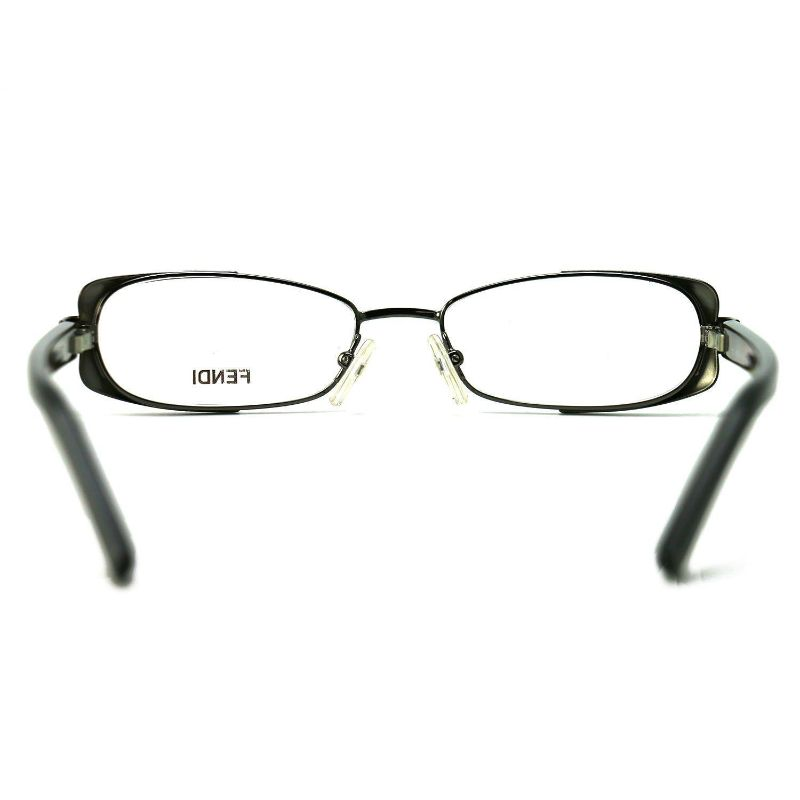 Fendi Women's Eyeglasses F943 035 Dark Gun 49 16 135 Full Rim Oval
