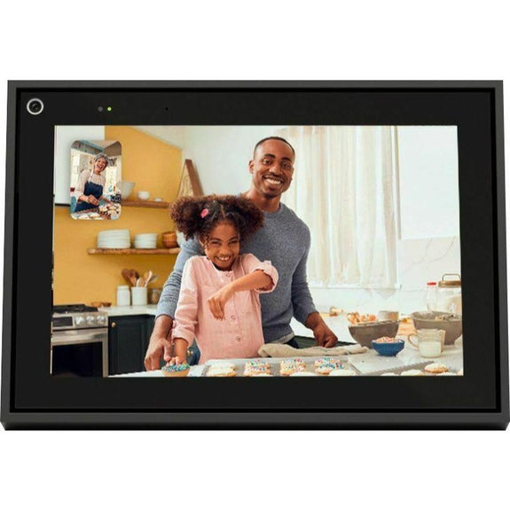 "Facebook Portal Mini Smart Video Calling 8"" Touch Screen Display-Black-"