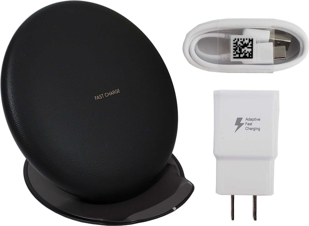 Daily Steals-Samsung EP-PG950 Fast Charge Wireless Convertible Charging Pad and Stand plus Cable and Adapter-Cell and Tablet Accessories-