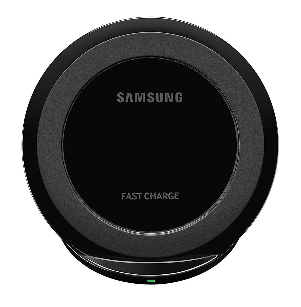 Samsung Wireless Qi Charging Stand with Fast Charge Technology and 2A Wall Charger Adapter-Daily Steals