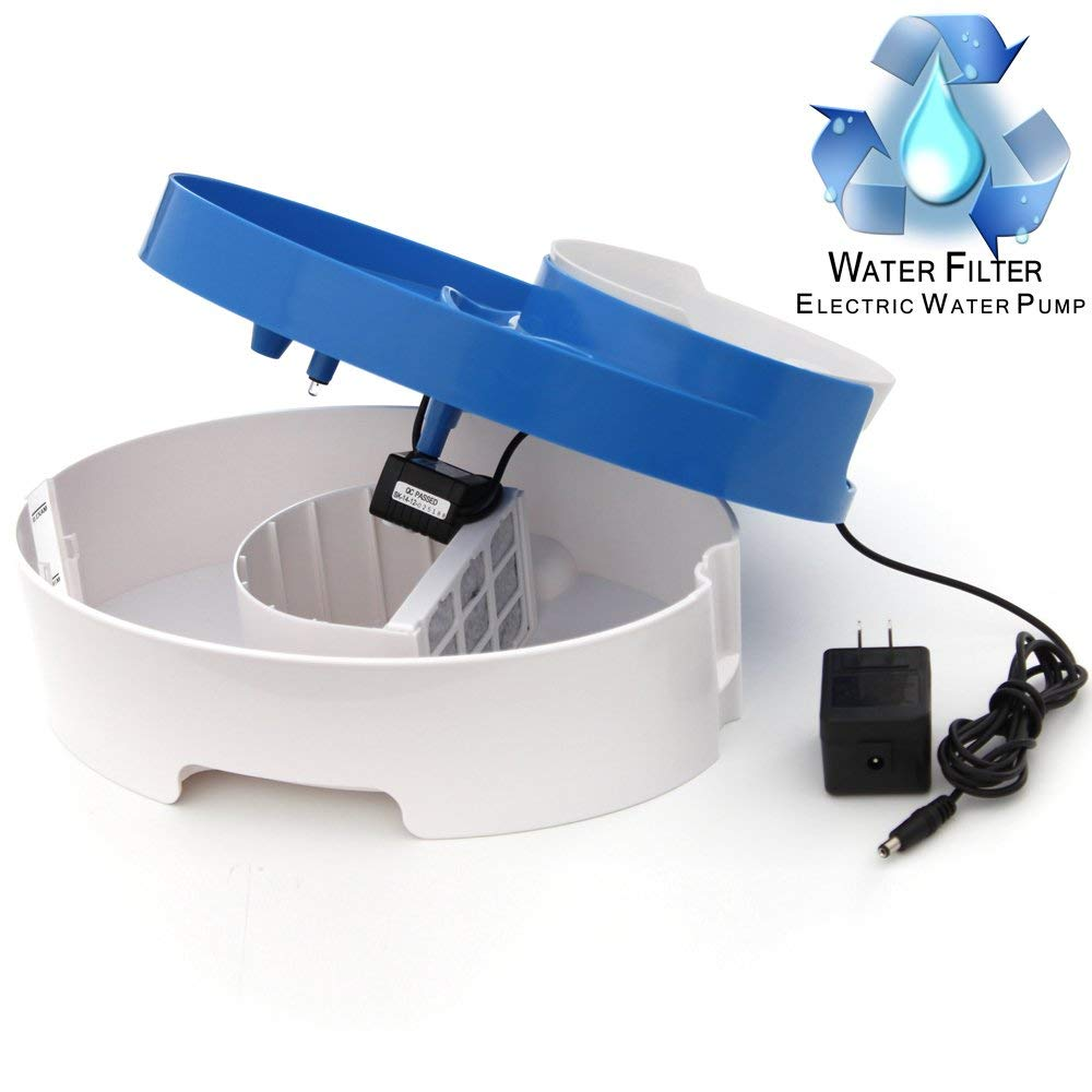 Integrated Water Fountain Food Bow Scoop-Daily Steals