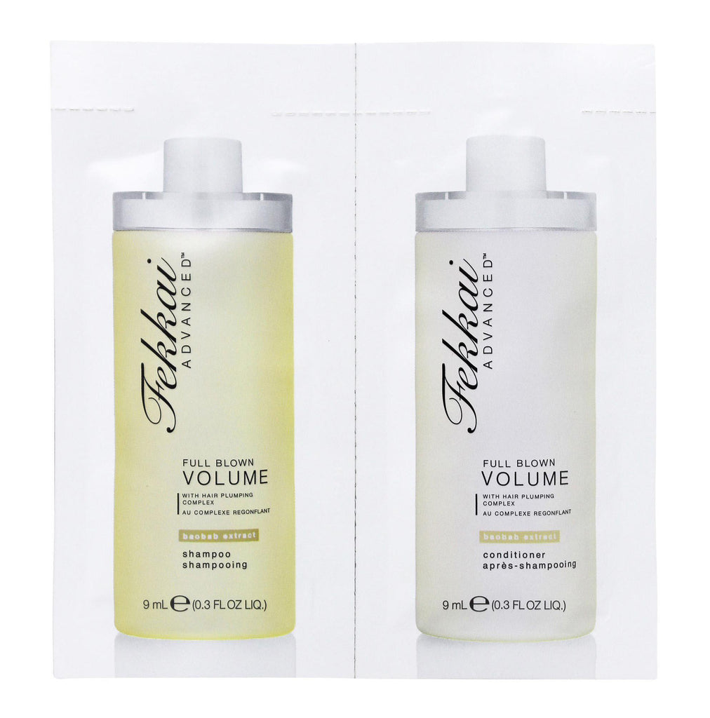 Fekkai Full Blown Volume Extract Shampoo & Conditioner 0.3Oz - 50 Packs-Daily Steals