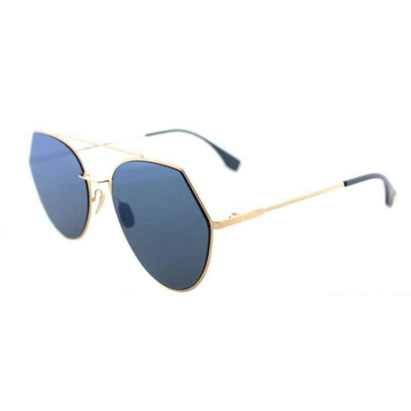 Fendi Eyeline 0194 Aviator Sunglasses-