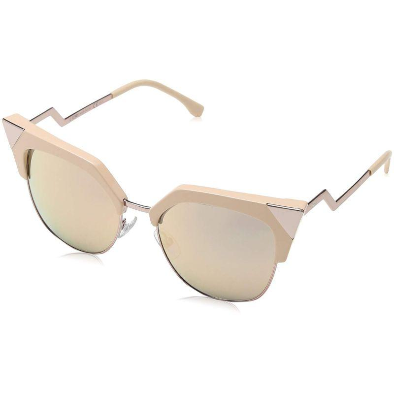 Daily Steals-Fendi FF 0149/S Pink 0Z8C / gray rose gold lens Sunglasses-Sunglasses-