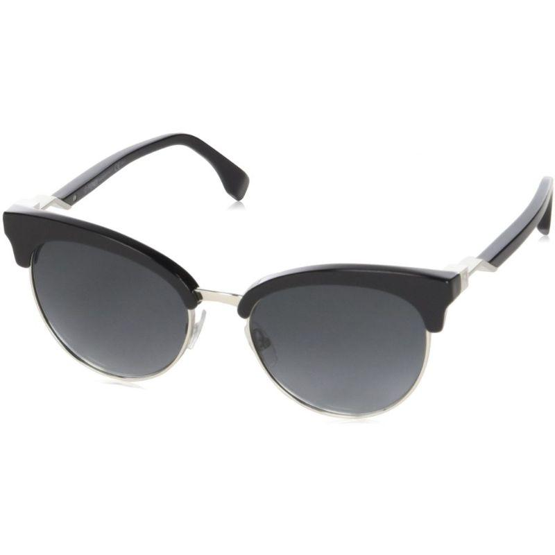 Daily Steals-Fendi FF 0229/S Black 0807 / dark gray gradient lens Sunglasses-Sunglasses-