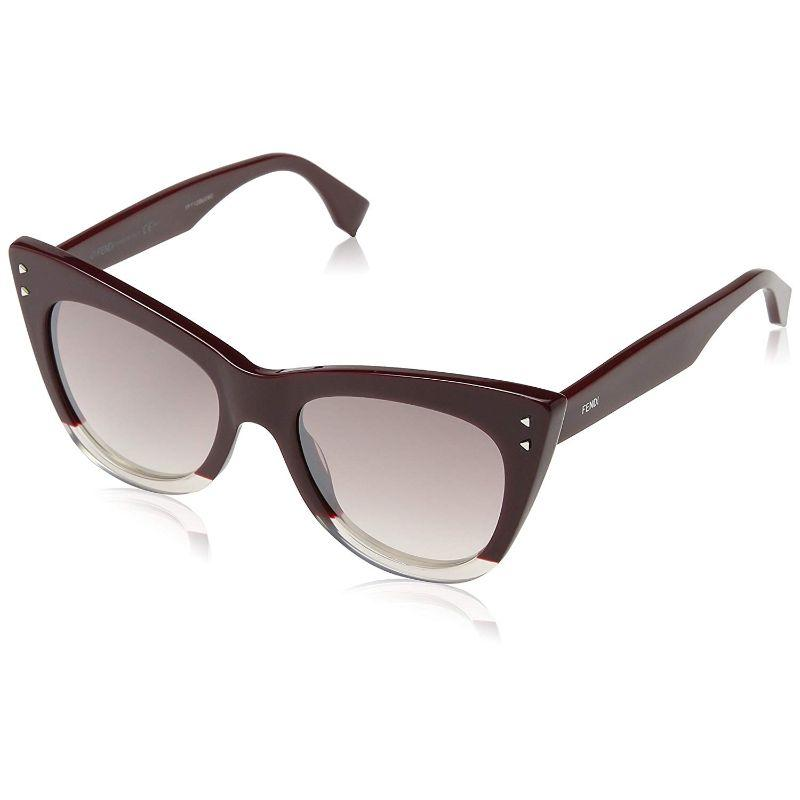 Daily Steals-Fendi FF 0238/S Opal Burgundy 0LHF Sunglasses-Sunglasses-