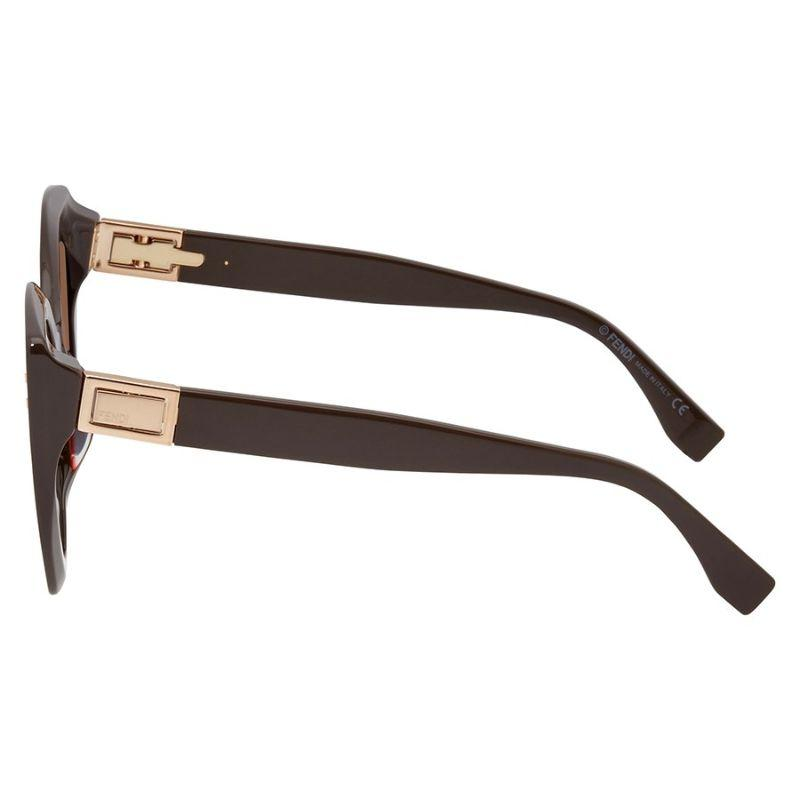 Daily Steals-Fendi FF 0265/S Brown 009Q / violet lens Sunglasses-Sunglasses-