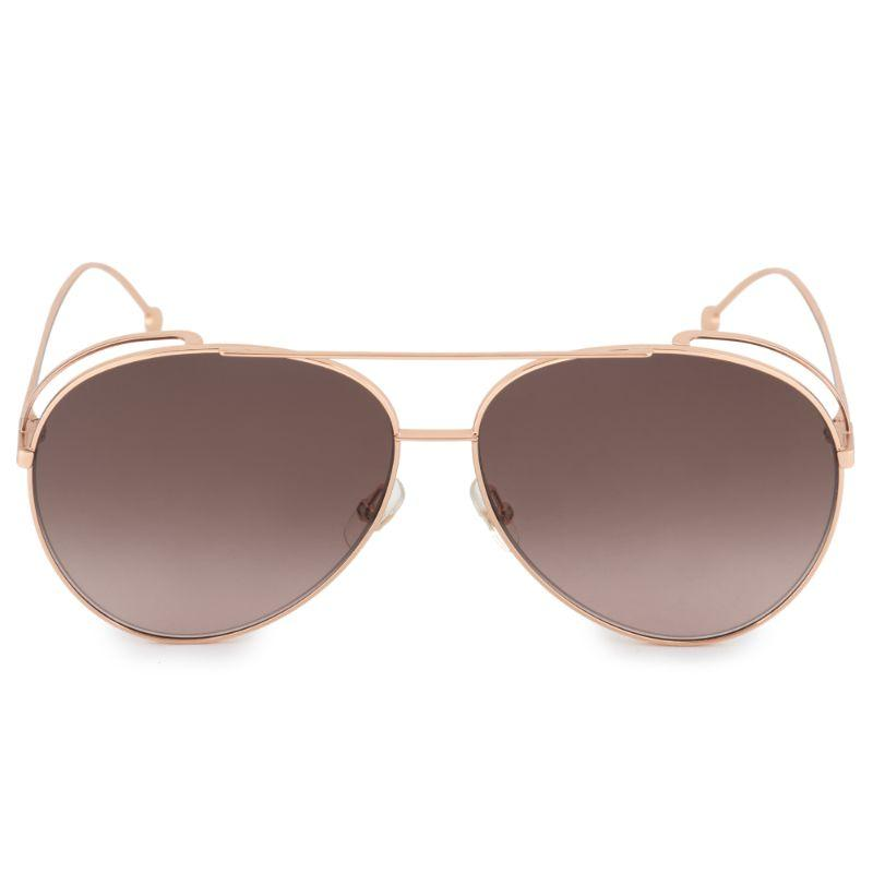 Daily Steals-Fendi FF 0286/S Gold Copper 0DDB / brown gradient lens Sunglasses-Sunglasses-