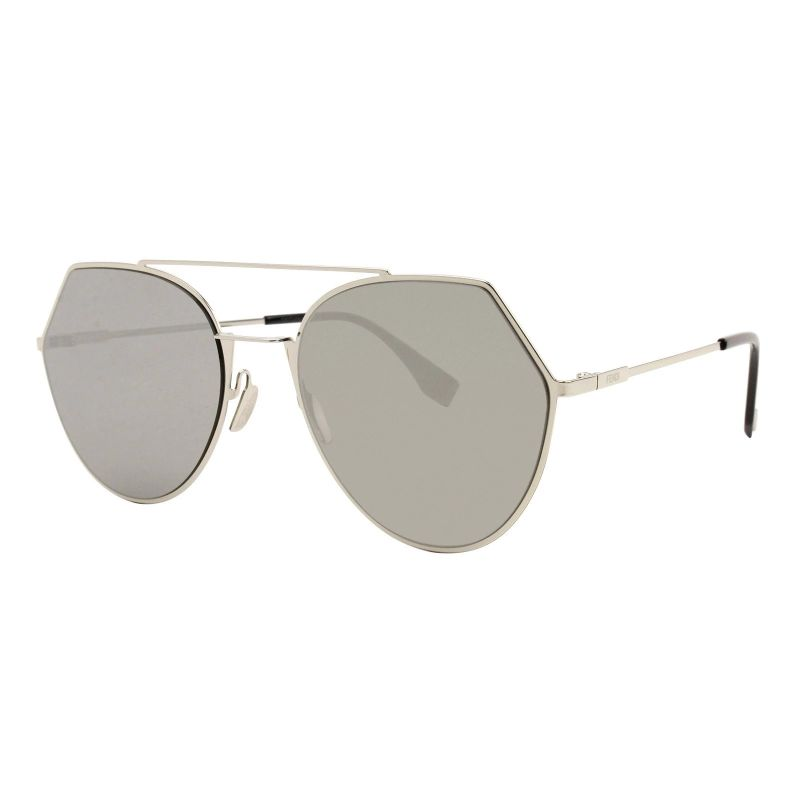 Fendi FF 0194 / S Light Gold 03YG / Grey Silver Lens Lunettes de soleil-Daily Steals